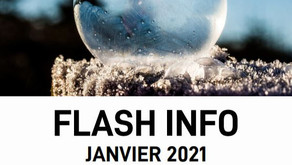 Flash info : Janvier 2021