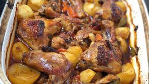 Oven Baked Chicken Stew