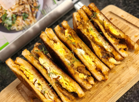 Tinned Fish & Fried Egg Sandwiches
