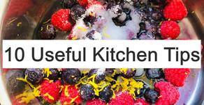 10 Useful Kitchen tips
