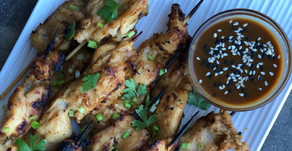 Peanut & Soy Sauce Grilled Chicken