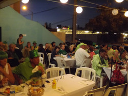 A full house of Green!!