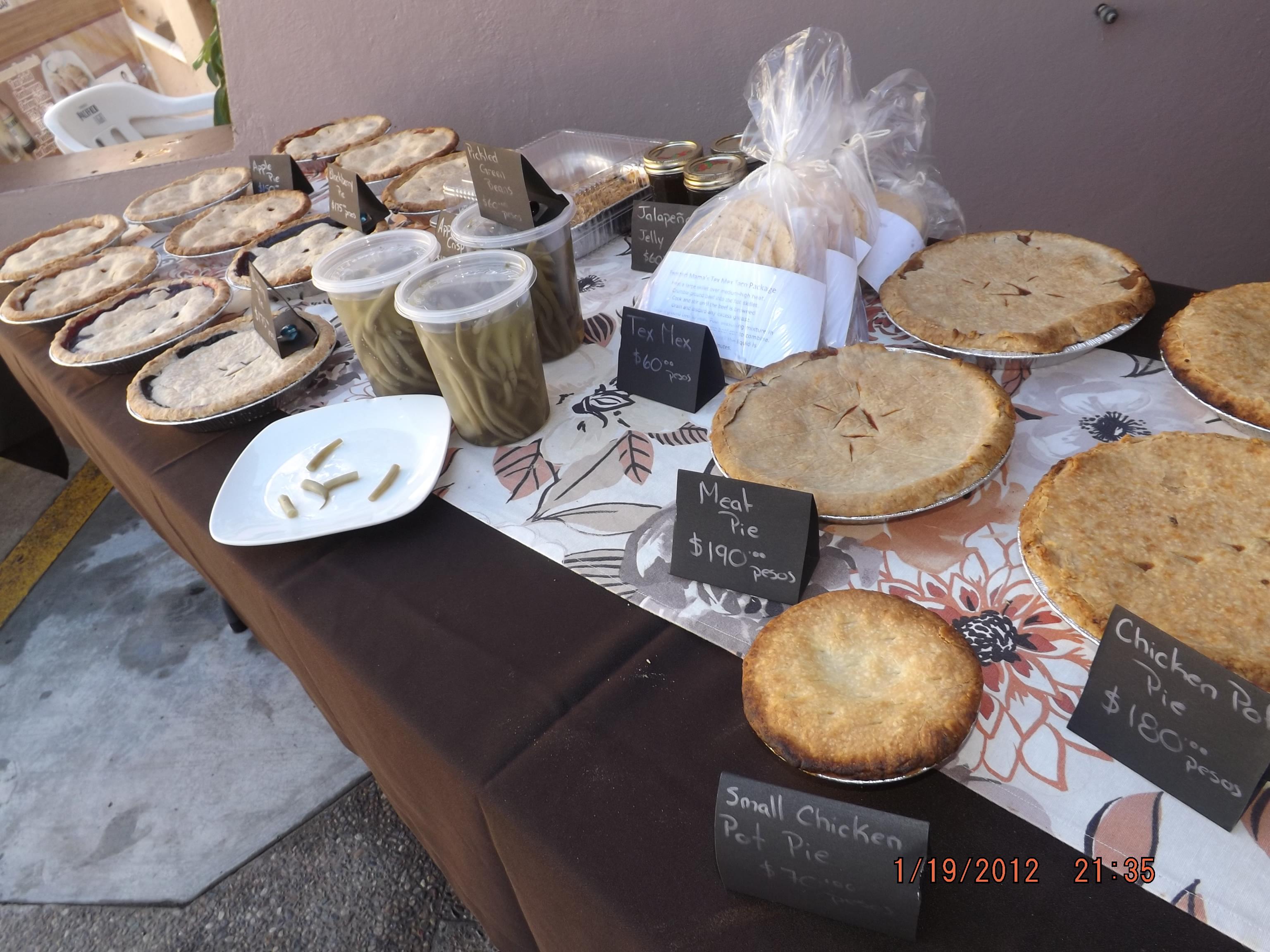 Wednesday Bake Sale