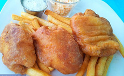 Old English Style Fish & Chips