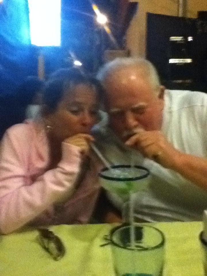 sharing a Margarita