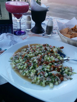 MMM! Shrimp Ceviche!