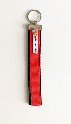 The Ready Red Wristlet Keychain