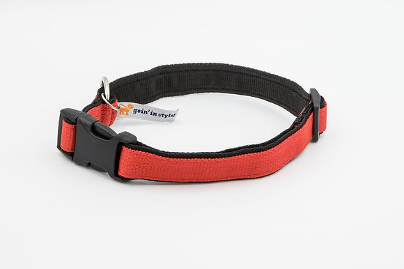 "The 1"" Ready Red Collar"