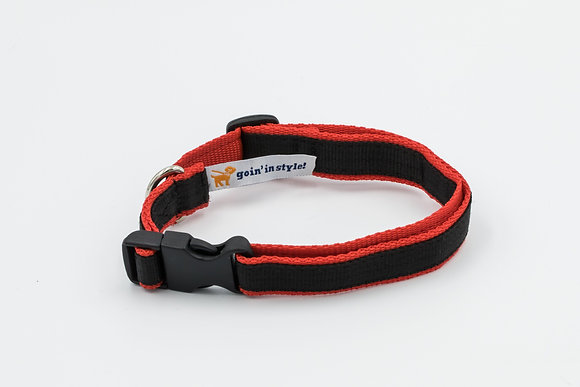 "The 3/4"" Ready Red Collar"