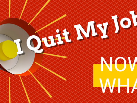 How I quit my job and made tons of money...................