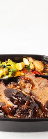 Braised Lamb with Seasonal Mixed Vegetables