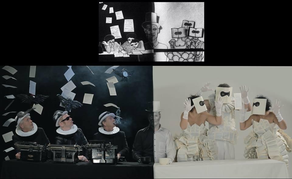Opnames trailer het Griezelkabinet