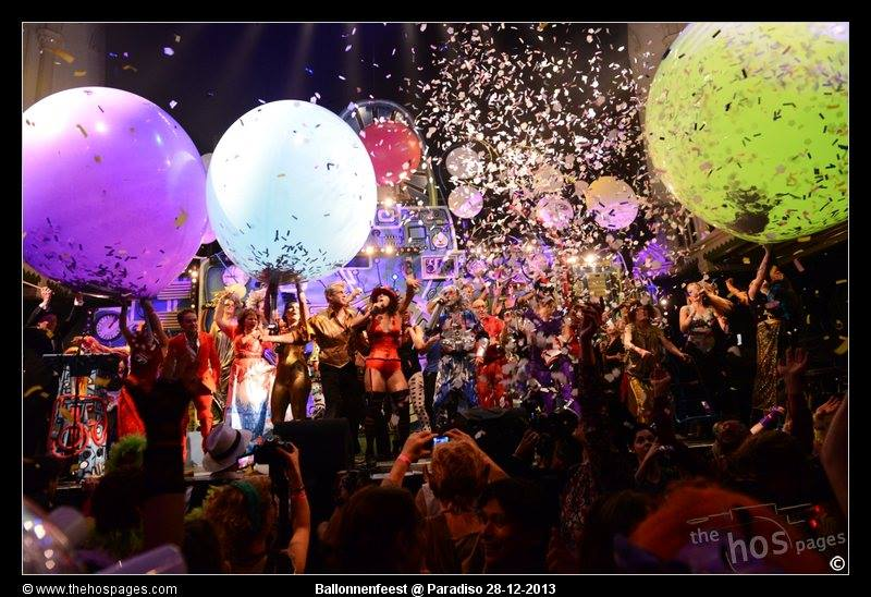 Ballonnenfeest, Paradiso 2013