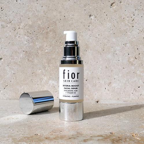 hydra boost facial serum, hyaluronic acid + vitamin B5, 30ml