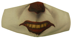 masque clown, .png