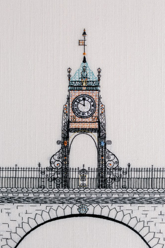Chester Clock   Charis Esther Embroidery