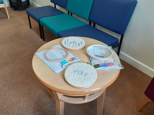 Ready for a workshop at UHCW