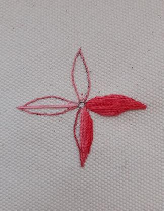 Satin Stitch example