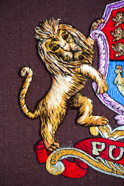 Pullman Crest | Charis Esther Embroidery