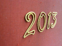 Lectern Fall - Gold Lettering
