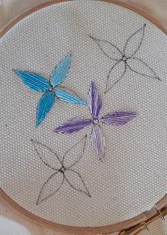 A students work at Myton Hospice