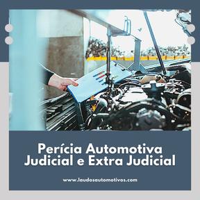 Perícia Automotiva - Judicial e Extra Judicial
