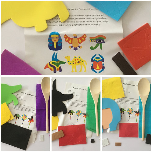 Ancient Egypt - Spoon Pals and Magnets