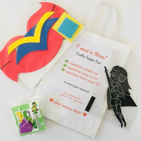 I Need a Hero Craft Bag