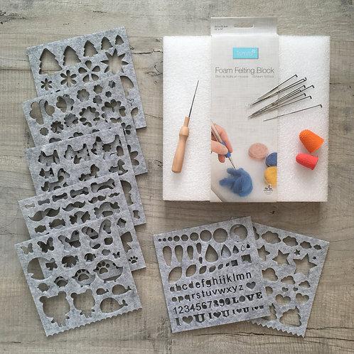 Needle Felting Equipment Kit