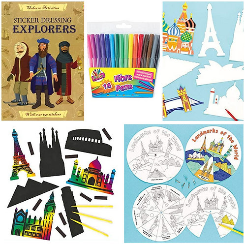 Explore the World Activity Pack