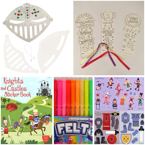 Knights and Castles Activity Pack + Stars Motivation Kit