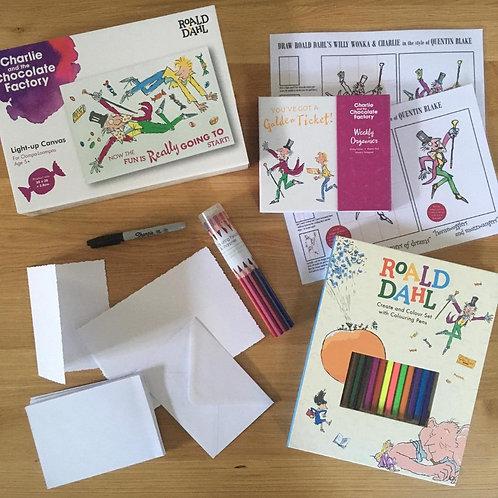 Roald Dahl Creativity Kit - Willy Wonka