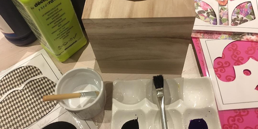 Wooden Tissue Box Cover