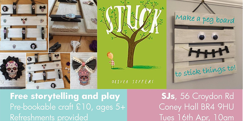 Stuck: Storytelling and Craft