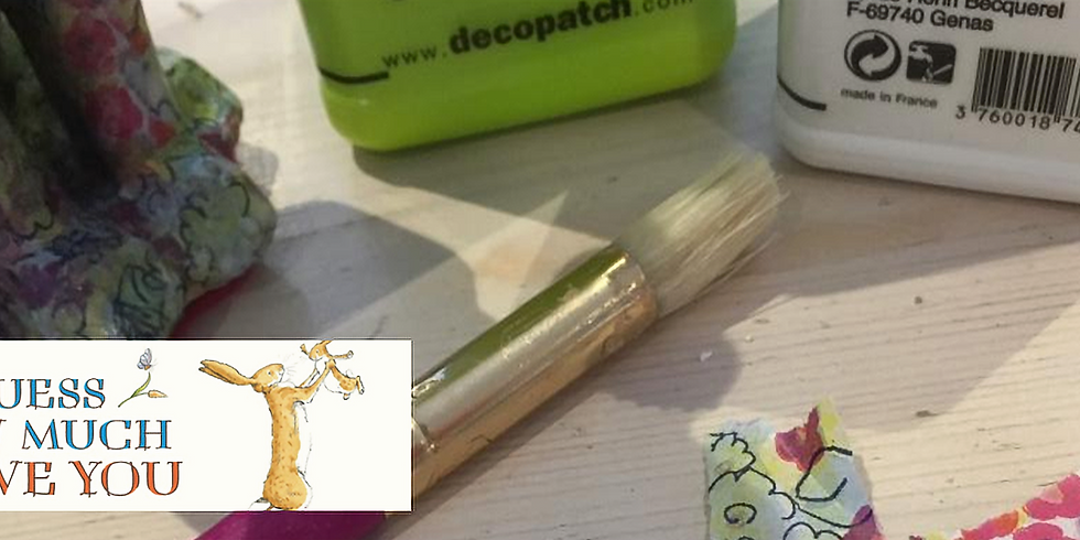 Guess How Much I Love Decoupage Workshop