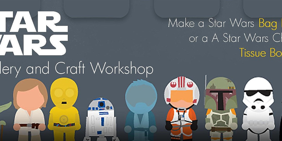 Star Wars Workshop - Funky Tissue Box Cover
