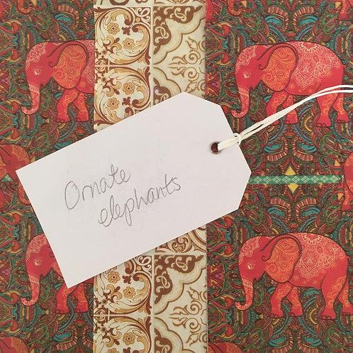 Ornate Elephants