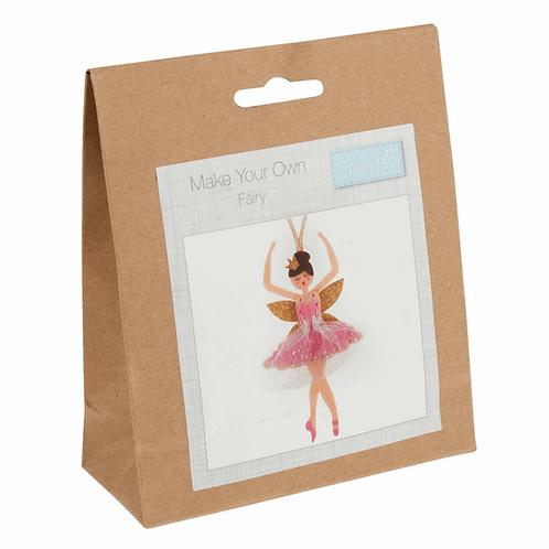 Felt Decoration Sewing Kit - Sugar Plum Fairy
