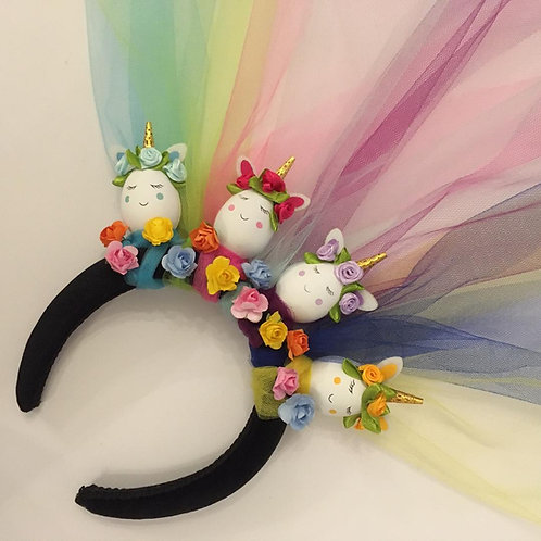 Unicorn Easter Egg Tiara