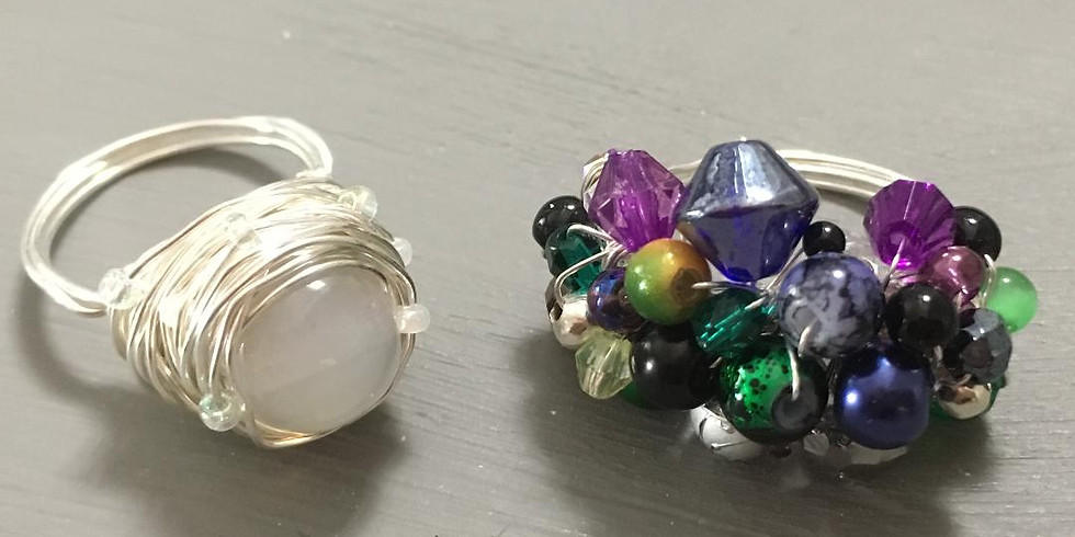 Jewellery Making Class - Cocktail Rings