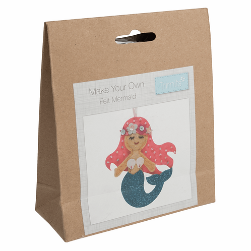 Felt Decoration Sewing Kit - Mermaid