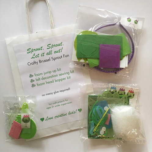 Sprout! Sprout! Let it all out! Christmas Craft Bag