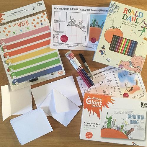 Roald Dahl Creativity Kit - James and the Giant Peach