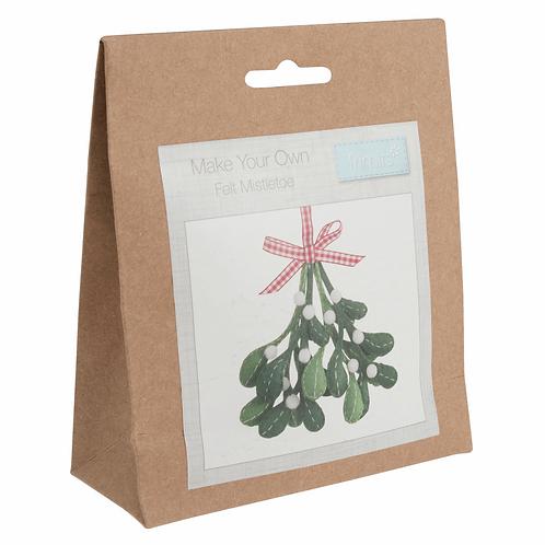 Felt Decoration Sewing Kit - Mistletoe