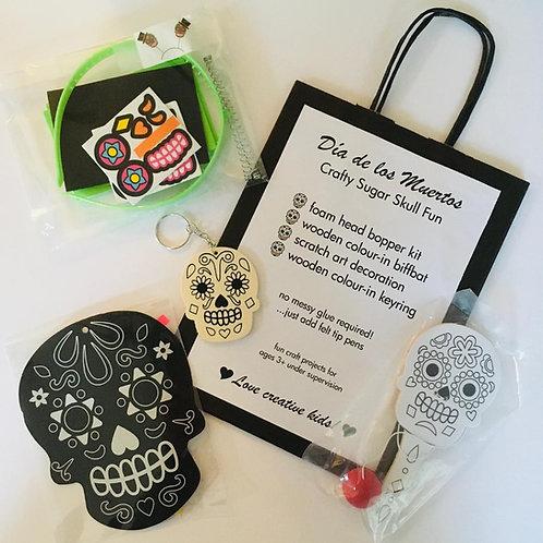 Dia de los Muertos Craft Bag