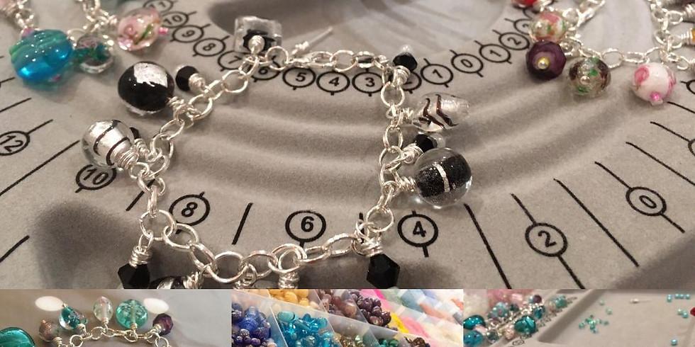Glass Bracelet Jewellery Workshop (with refreshments)
