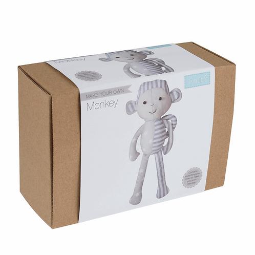Patchwork Toy Monkey Kit