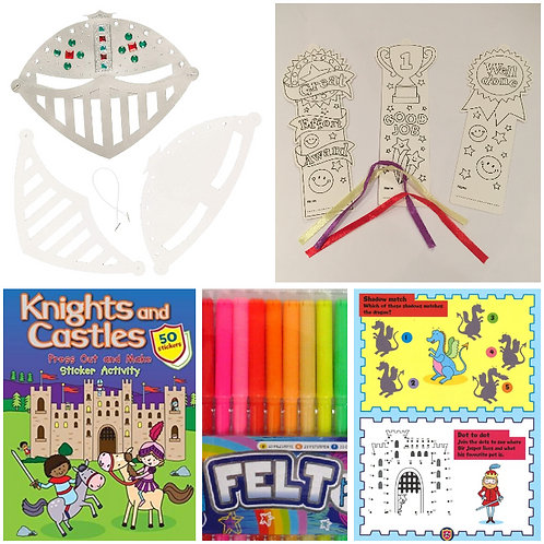 Knights and Castles Activity Pack B + Stars Motivation Kit
