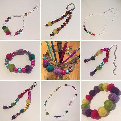 Rainbow Dot Jewellery
