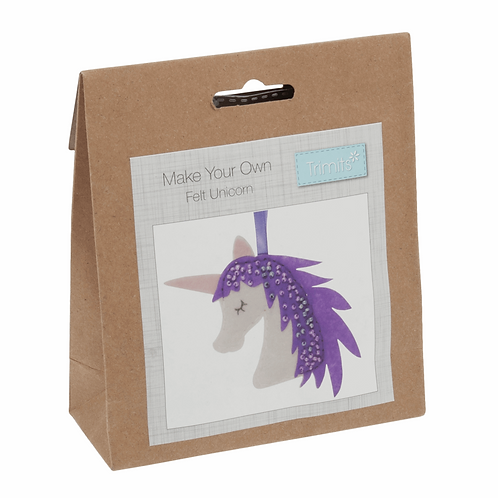 Felt Decoration Sewing Kit - Unicorn